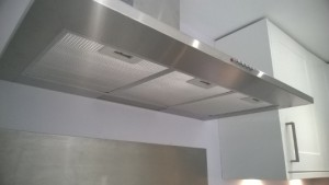 Extractor cleaned in a restaurant in London