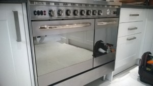 well cleaned commercial oven